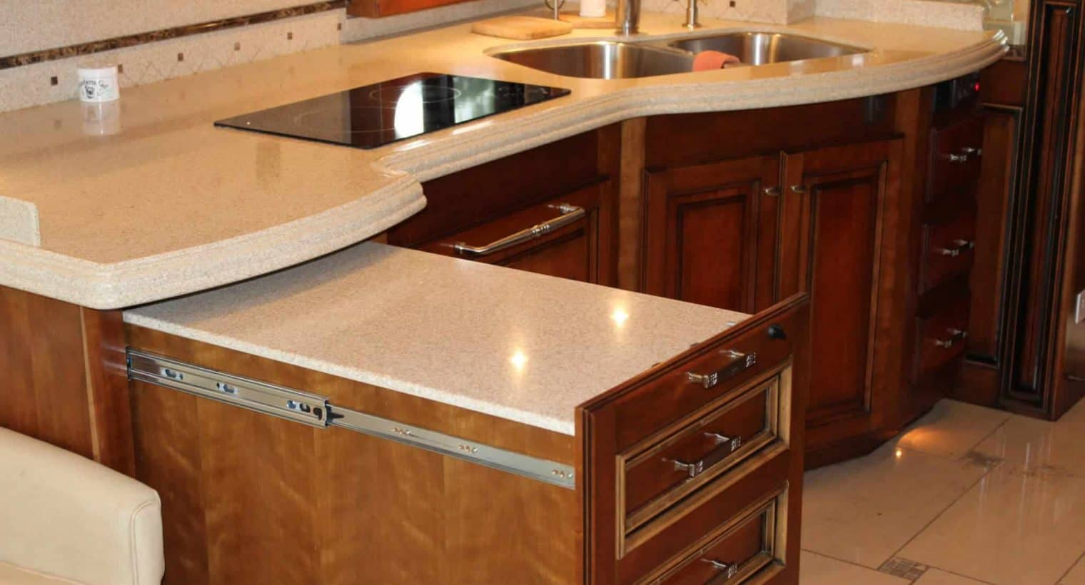 summer rv kitchen